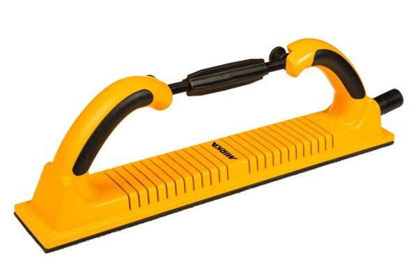 8391150111 001 600x400 - Ручной гибкий шлифовальный блок с пылеотводом Premium 70x400 мм 53 отв