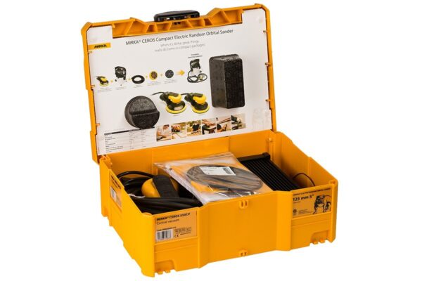 mim5502011ca 003 600x400 - Mirka Ceros шлифовальная машинка CEROS550CV кейс