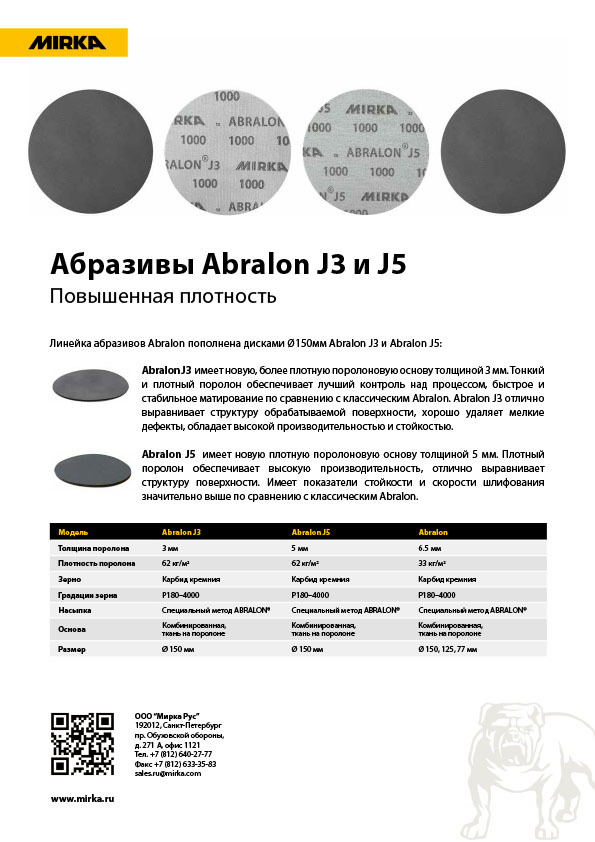 mirka abralon j3 and j5 copy - Абразивы Abralon J3 и J5
