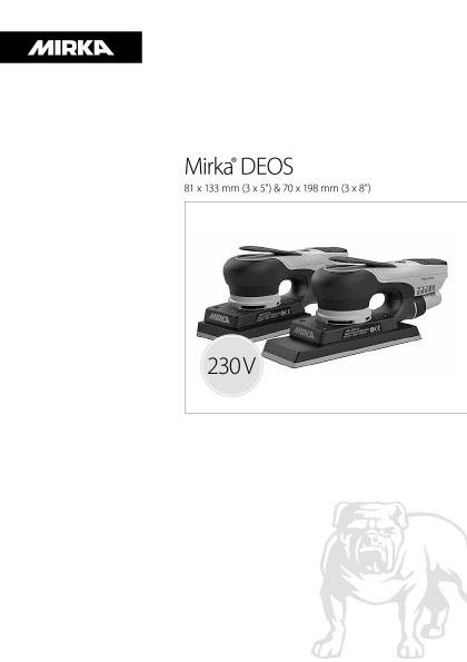 mirka deos 81x133 70x198mm 230v 1 copy - Mirka DEOS 70x198mm and 81x133mm 230V