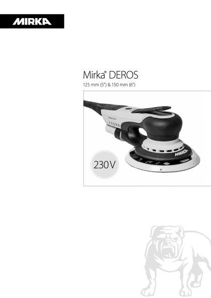 mirka deros 125 150mm 230v 1 copy - Mirka DEROS 125 и 150mm 230V