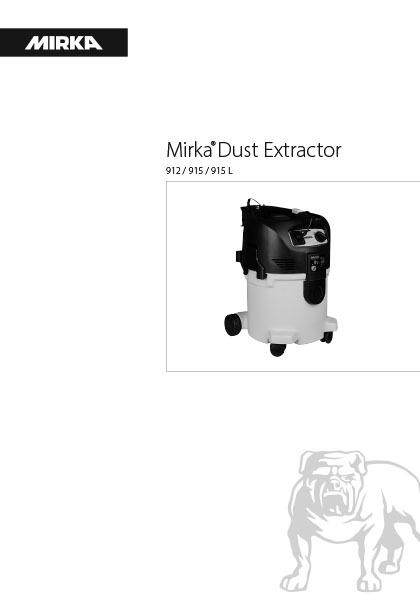 mirka dust extractor 912 915 915l 1 copy - Mirka Dust Extractor 912, 915 and 915L