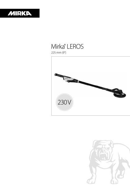 mirka leros 225mm 230v 1 copy - Mirka LEROS 950CV 230V