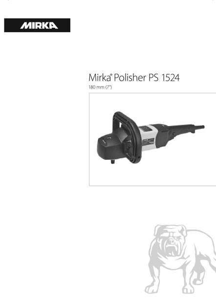 mirka polisher ps 1524 180mm 1 copy - Mirka Polisher PS 1524 180mm