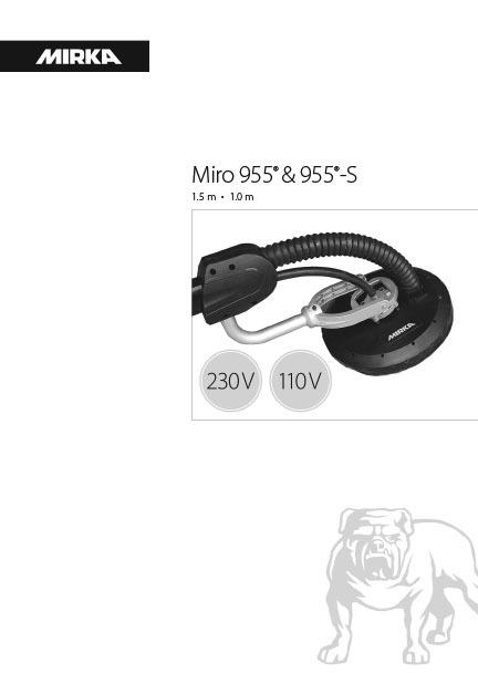miro 955 955 s 230v 110v 1 copy - Miro 955 и 955-S 230V и 110V