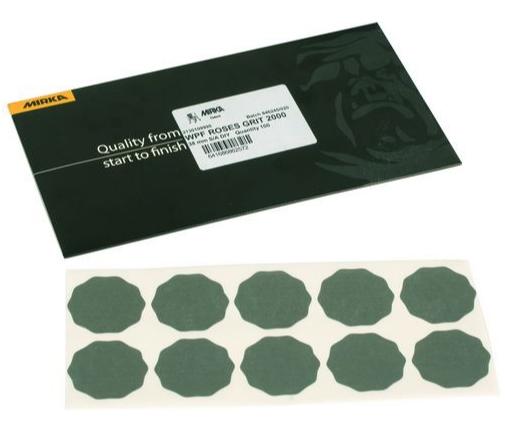 ochishhayushhie salfetki iz mikrovolokna polarshine 380h380mm sinie 2 sht mirka 7991300111 - WPF ROSES 33/36мм P2500 (100 шт/уп)