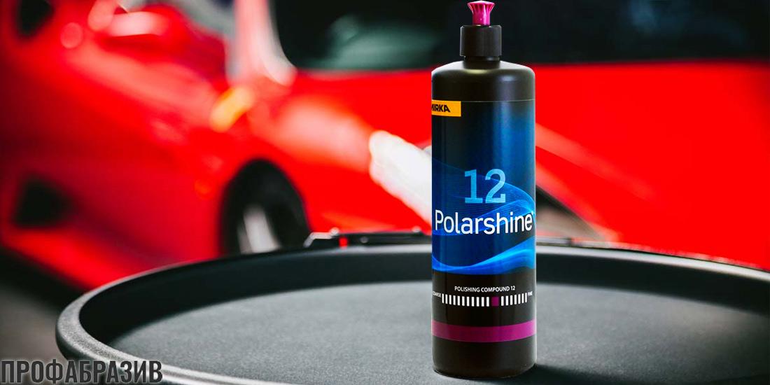 polirovalnaja pasta mirka polarshine 12 1 litr - Полировальная паста Polarshine 12 1 л