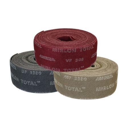 shlifovalnyj vojlok v rulonah mirka mirlon total 115 10 450x450 - MIRLON TOTAL 115x10м P360 (1 шт/уп)