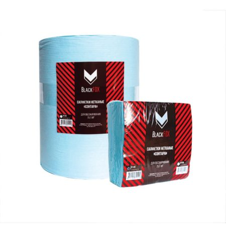 10 450x450 - Салфетки для обезжиривания BlackFox DuPont Sontara 75 г/м2 30x32 см бирюзовые (400 шт/уп)