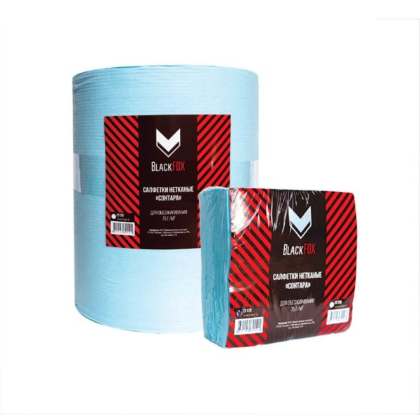 10 600x600 - Салфетки для обезжиривания BlackFox DuPont Sontara 75 г/м2 30x32 см бирюзовые (400 шт/уп)