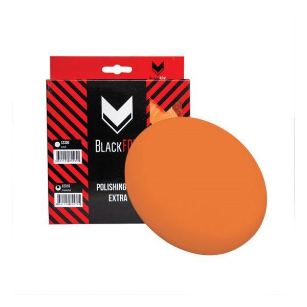 16 600x600 - Полировальник поролоновый на липучке BlackFox 150х25 мм универсальный оранжевый