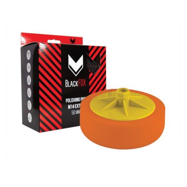 20 600x600 - Полировальник поролоновый BlackFox резьба М14 150х50 мм универсальный оранжевый