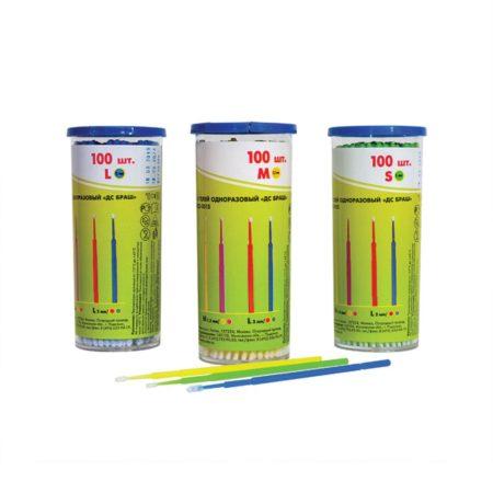 29 450x450 - Микро кисточки для подкраски сколов BlackFox супертонкие D2 мм, синий (100 шт/уп)