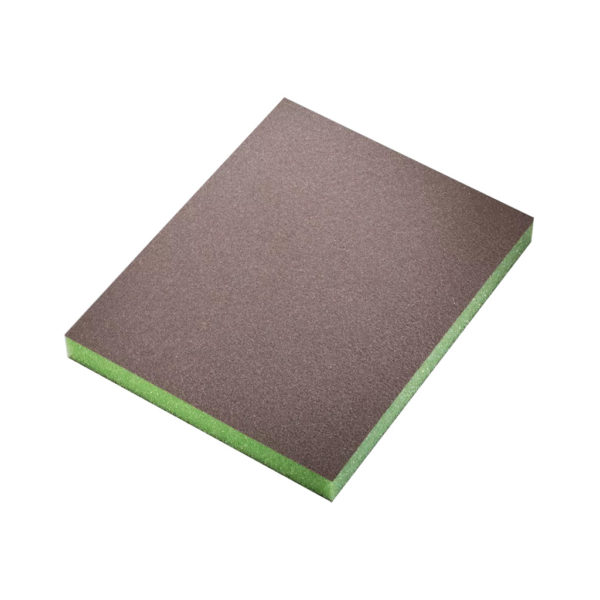 tovar 01 600x600 - Siasponge soft губка двусторонняя 98х120х13 мм superfine P600 зеленая (20 шт/уп)