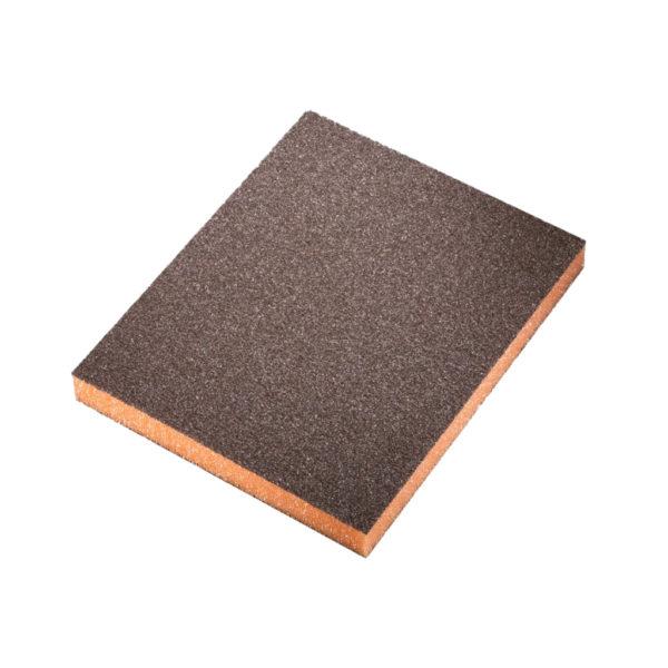 tovar 03 600x600 - Siasponge soft губка двусторонняя 98х120х13 мм medium P280 оранжевая (20 шт/уп)