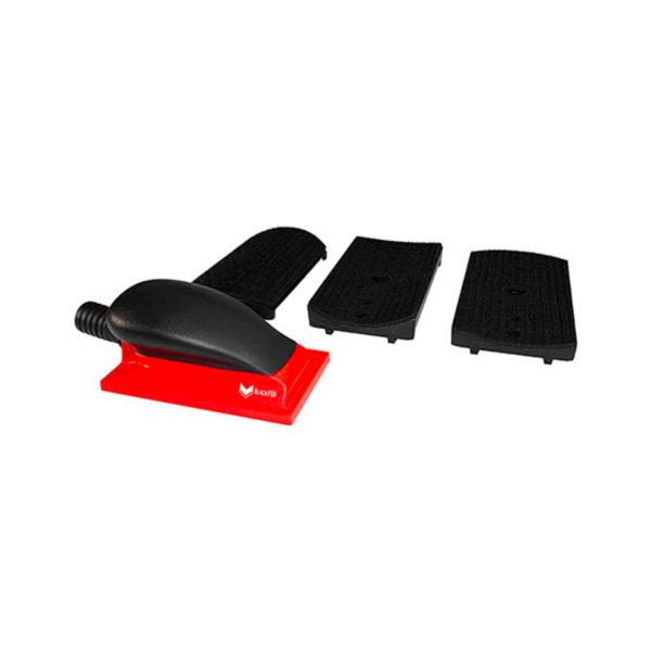 51537kit 1 600x600 - BlackFox набор для шлифования поверхностей 77х150 мм 3 накладки регулятор пылесоса