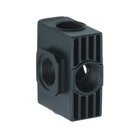 bh118690an 450x449 - ANI Отвод для фильтров E186/20 с 4мя воздушными выходами 1/4А и 2мя заглушками