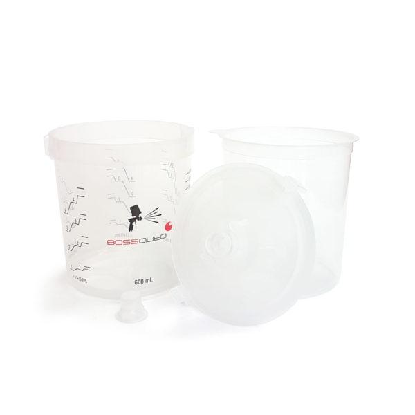100361 600x600 - Набор BPS (стаканы 600 мл-50 шт, крышки 190 мкм-50 шт, колпачки-25 шт, жесткий стакан - 1)