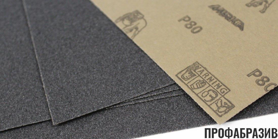 Наждачная бумага Mirka P80